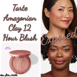 TARTE AMAZONIAN CLAY 12 HR BLUSH EXPOSED NUDE PINK